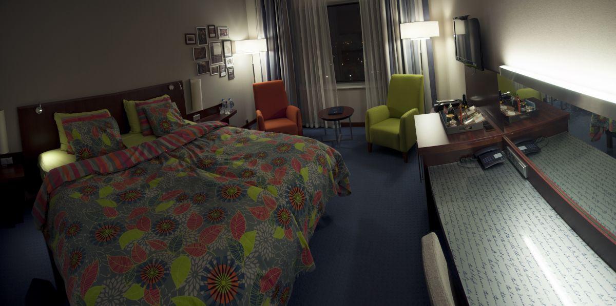 Solo Sokos hotel double bed room Tallinn luxury hotel