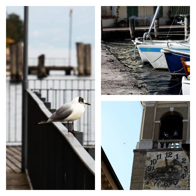 Gargnano Town near Brescia in Lombardy