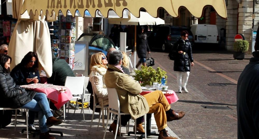 Gargnano in Brescia, Lombardy.