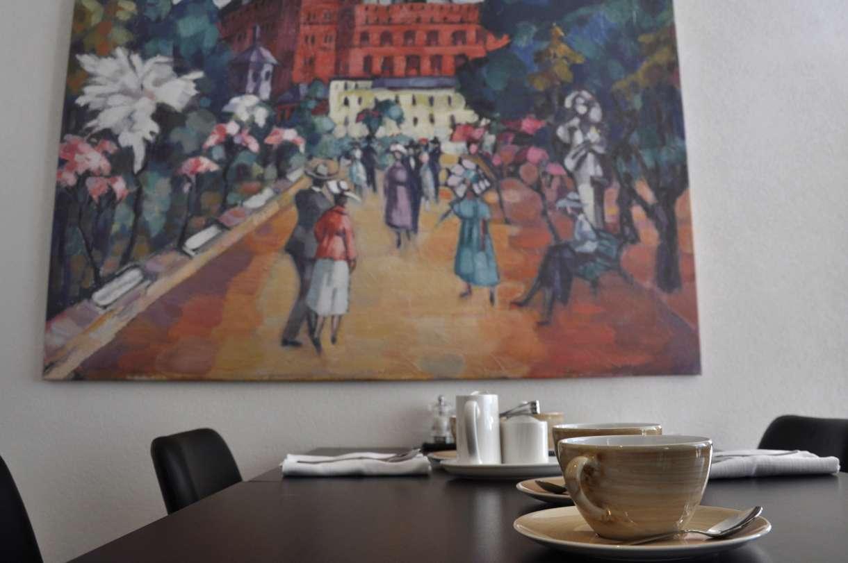 Konrad Magi painting reproduction in Hotel Palace