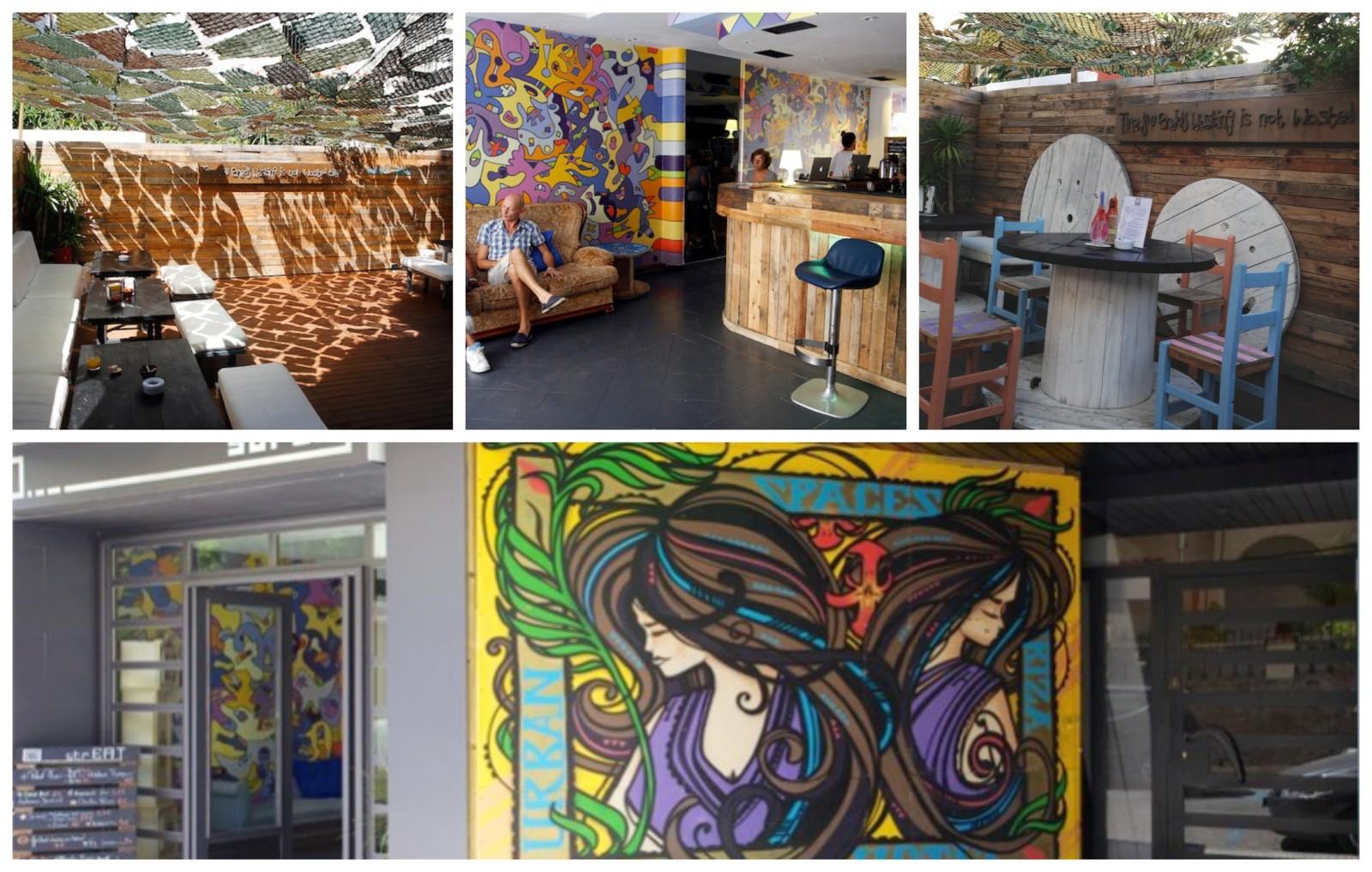 urban spaces ibiza reception area