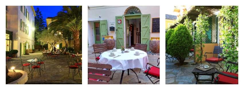 Castel Brando Corsica Romantic Seating