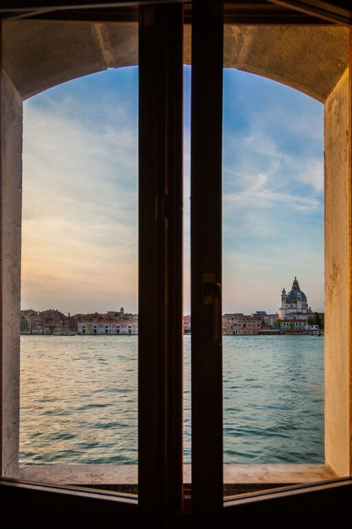 View on Venice from the Mestre