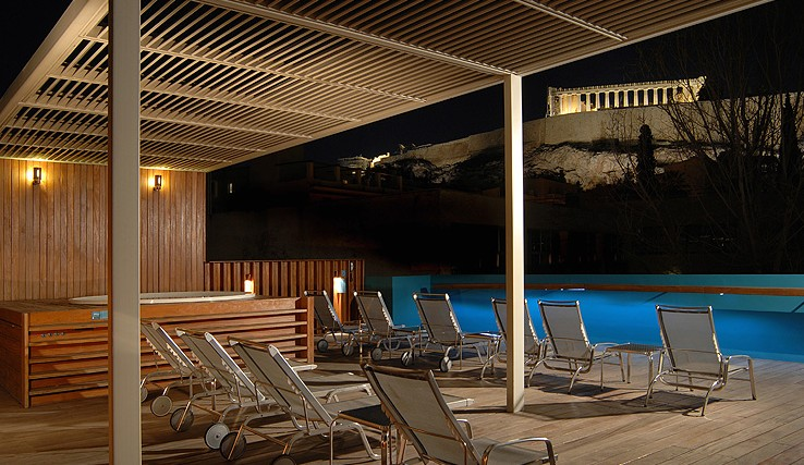 Jacuzzi spa Greece Athens Herodion Hotel