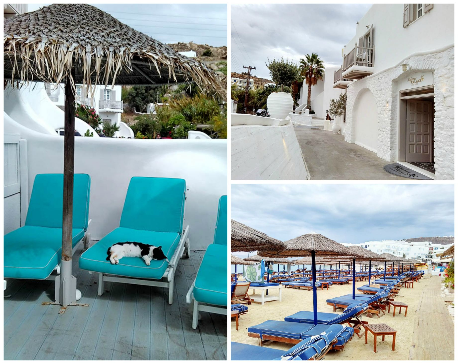 luxury Beach front hotel mykonos