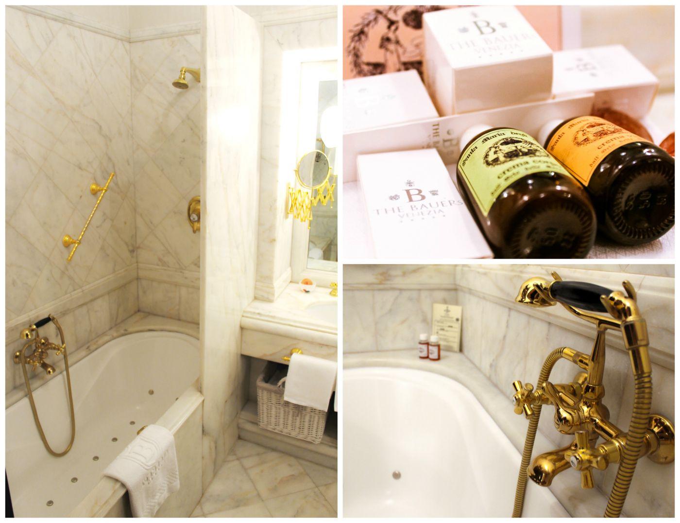 bathroom il palazzo Venice Bauer St Marco