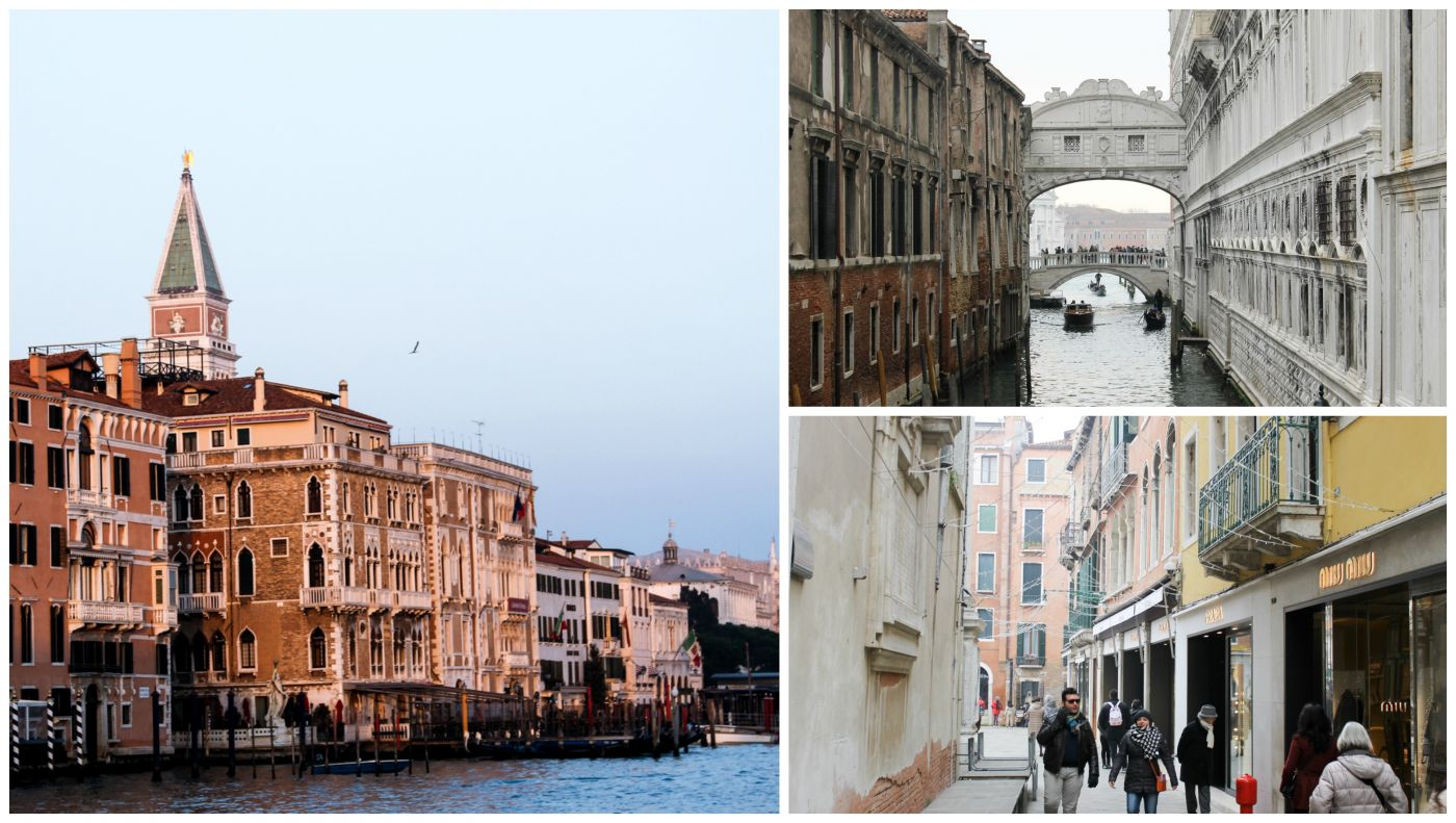 Venice St Marco Shopping Il Palazzo Bauer Hotel